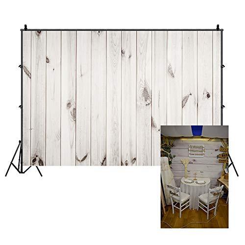 Cassisy 1,5x1m Vinilo Madera Telon de Fondo Vendimia Rústico Retro Nostalgia Textura Planchas De Madera Blancas Fondos para Fotografia Party Photo Studio Props Photo Booth