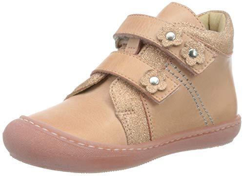 Däumling Baby Mädchen Sandy Sneaker, Pink (Chalk Lachs 05), 22 EU