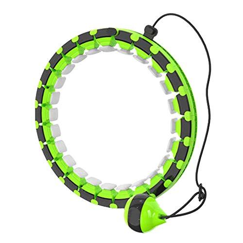 PPTF Smart Hula-Reifen, Einstellbare Größe Hula-Reifen, Sport Und Fitness Hula-Hoop, Geeignet Für Erwachsene Kinder Und Anfänger (Color : C)