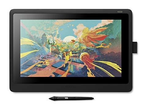 【Amazon.co.jp限定】ワコム 液タブ 液晶ペンタブレット Wacom Cintiq 16 FHD ブラック アマゾンオリジナルデータ特典付き DTK1660K1D