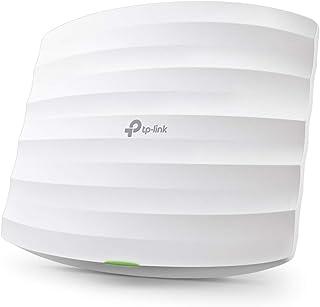 TP-Link EAP225 - Punto de Acceso Gigabit Inalámbrico MU-MIMO AC1350, Montaje en Techo, WiFi Empresarial, Acceso a la nube,...