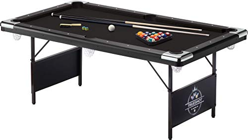 GLD Products Fat Cat Trueshot 6 Ft. Pool Table | Folding Legs for...