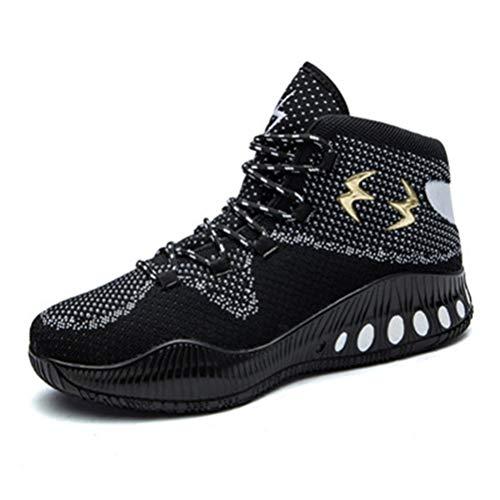 LFEU Basketball-Schuh-Mann-hohe Spitze Breathable Dämpfung rutschfeste männliche Sport-Stiefeletten im Freien