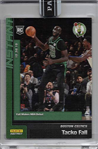 2019-20 Panini Instant Green Parallel #22 Tacko Fall Basketball Rookie Card Boston Celtics - Only 10 made!