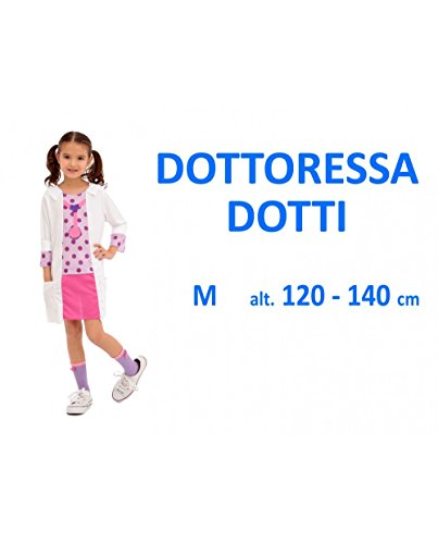 Kidz Corner-374604 Costume Dottoressa per Bambini, 37604
