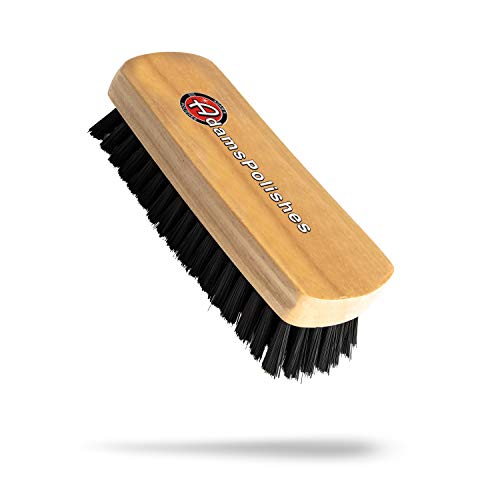 Adam's Cockpit Detailing Brush - Car Cleaning Brush | Scrub Brush for Interior Leather Cleaner Carpet Upholstery Fabric Shoe Sofa Shower Bathroom Pet | Car Wash Kit - Car Cleaning Supplies