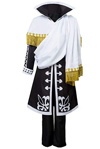 Manfis Fairy Tail Season 5 Zeref Dragneel Emperor Disfraz Cosplay Hombre