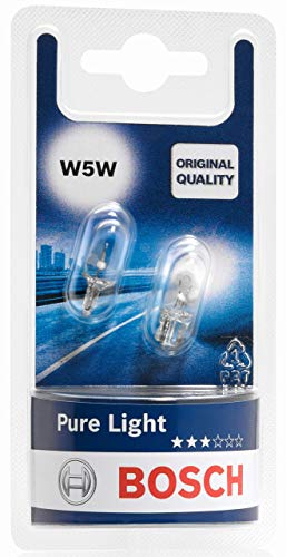 Bosch Lampes Pure Light W5W 12V 5W (Ampoule x2)