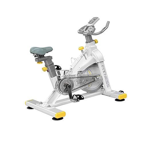Bicicleta Estática, Bicicleta Estacionaria De Ciclismo De Interior Bicicleta De Ejercicio Resistente, Bicicleta De Ejercicio Cardio Ajustable De Interior Para Gimnasio En Casa,capacidad Máxima: 150 Kg