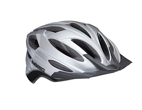 Diamondback Recoil Mountain Bike Helmet, Gloss Silver, Medium