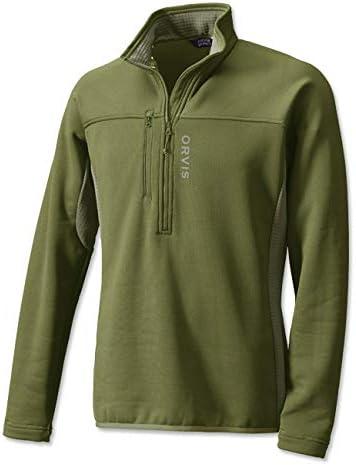 Orvis Mens Pro Half-Zip Fleece
