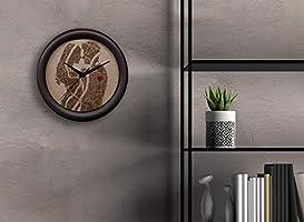 Reloj de pared personalizado con grabado en madera. Original reloj de cocina con foto o ciudad custom, con texto, pin,...