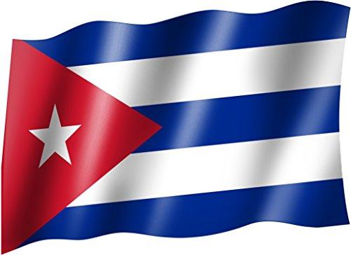 Flagge/Fahne KUBA/CUBA Staatsflagge/Landesflagge/Hissflagge mit Ösen 150x90 cm, sehr gute Qualität