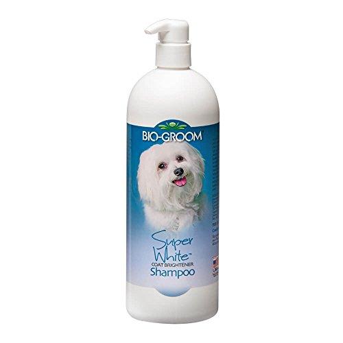 BioGroom Super White Coat Brightener Shampoo, 32 oz