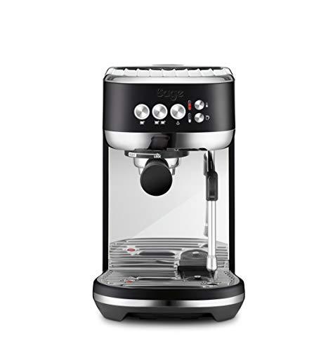 Sage Appliances SES500 the Bambino Plus, Espressomaschine, 1600 Watt, Matt-Schwarz