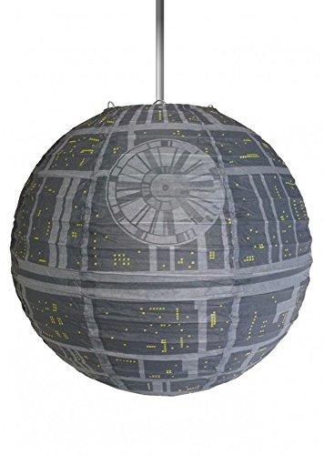 Star Wars–Papel lámpara techo–Episodio 4–Estrella de la Muerte