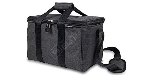 Elite Bags, Multy's, Botiquín primeros auxilios, Bolsa emergencias multiusos, Gris y negro