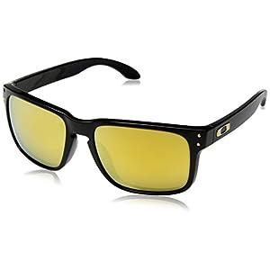 a62007db81ec6 Amazon.com  Oakley Shaun White Holbrook Mens Sunglasses - Polished  Black 24K Iridium  Shoes