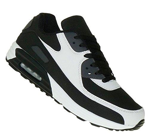 Bootsland 884 Neon Turnschuhe Sneaker Sportschuhe Luftpolstersohle Herren, Schuhgröße:43