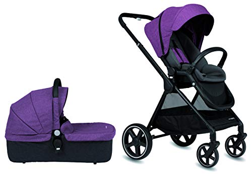 Cochecito de paseo Casualplay Optim con capazo, color purple