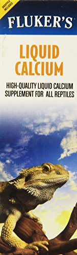 Fluker Labs SFK73061 Liquid Calcium Concentrated Reptile Supplement, 1.7-Ounce