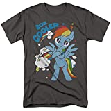 My Little Pony TV 20 Percent Cooler Unisex Adult T Shirt for Men and Women, Charcoal, Large