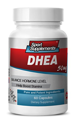 dhea Powder Bulk - DHEA 50mg - DHEA Supplement to Enhance the Immune System and Improve Sexual Function (1 bottle 60 capsules)