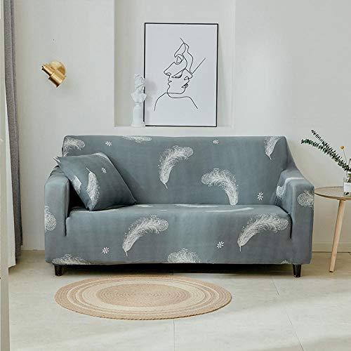 Allenger Funda de sofá Antideslizante,Funda de sofá con Estampado elástico, Funda de sofá con Todo Incluido, Protector de sofá-C1_90-140cm