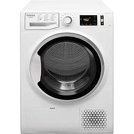 Sèche linge Condensation Hotpoint Ariston NTM1182SKFR - Pompe à chaleur - Chargement Frontal - Pompe à chaleur - Départ différé - Indicateur temps restant - 65 décibels