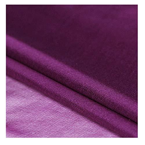 Yankai Stof effen zijden sjaal voor bruiloft bruiloft moerbei, stof bruidsjurk breedte 130 cm NIU