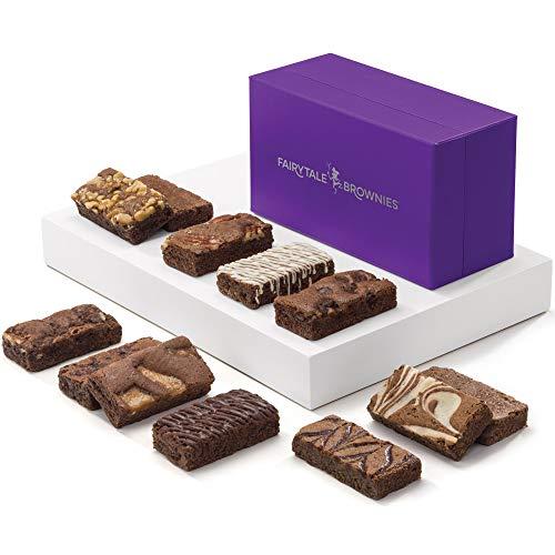 Fairytale Brownies Sprite Dozen Gourmet Chocolate Food Gift Basket - 3 Inch x 1.5 Inch Snack-Size...