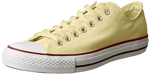 Converse Chuck Taylor All Star Low Top Sneaker, Natural Ivory, 9.5 M US