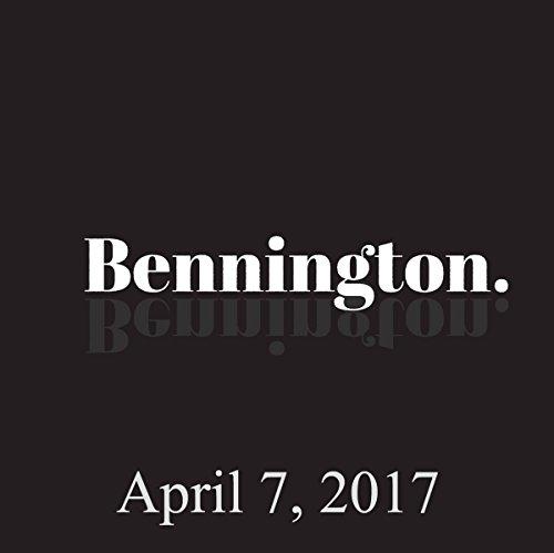 Bennington, April 7, 2017 audiobook cover art