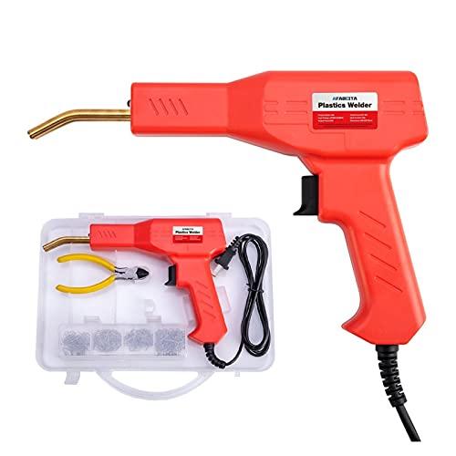 Plastic Welder Kit for Repair 50W Plastic Welders Welding Equipment Car Bumper Repair Hot Stapler Garage Tools Hot Staplers Machine (Color : A)