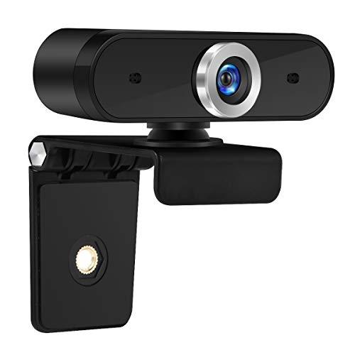 SOONHUA Home - Webcam multifunción 480P interfaz USB giratoria 360 ° cámara web con micrófono integrado para ordenador portátil, PC, escritorio, videoconferencia de aprendizaje en línea