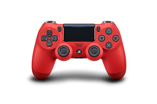 Sony DualShock 4 Wireless Controller for PlayStation 4 - Magma Red Two Tone (CUH-ZCT2U)