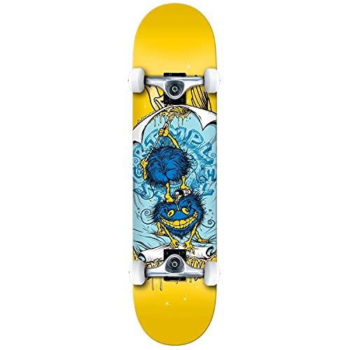 Anti Hero Grimple Glue Grande Fabbrica Completa Skateboard Giallo 8'