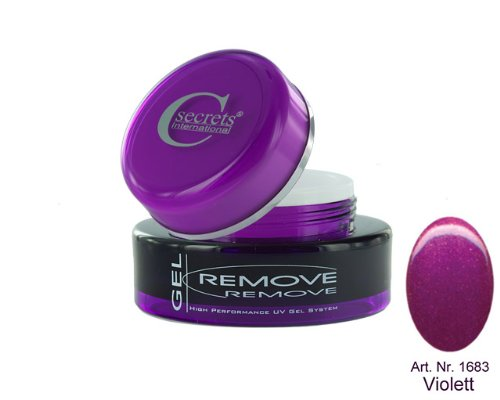 Cesars Remove Gel Violet