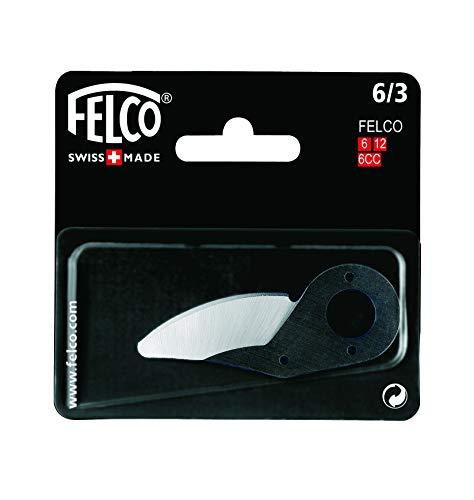 FELCO Ersatzklinge für Gartenscheren (geeignet für FELCO 12, FELCO 6, Ersatzteil für Gartenwerkzeug, Ersatzmesser) FELCO 6/3