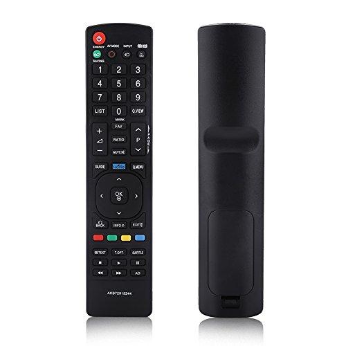 Plyisty Mando a Distancia Universal de Repuesto para LG LED TV, Mando a Distancia LG AKB72915244, Nuevo Mando a Distancia LG reemplazado