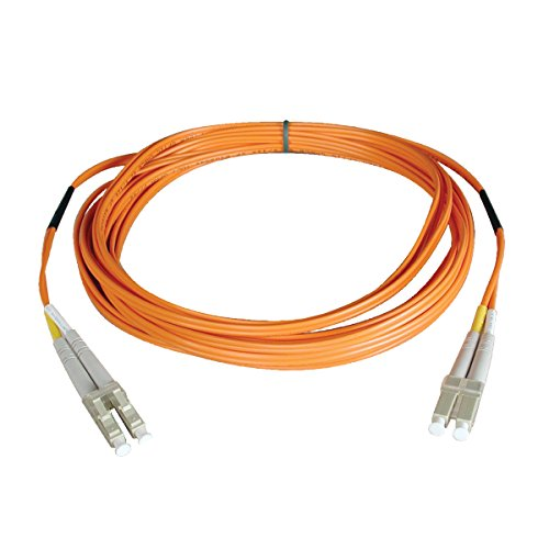 Tripp Lite Duplex Multimode 62.5/125 Fiber Patch Cable (LC/LC), 2M (6-ft.)(N320-02M) Orange