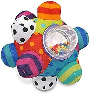 Developmental Bumpy Ball   Easy to Grasp Bumps Help Develop Motor Skills   for Ages 6 Months and Up   Colors May Vary