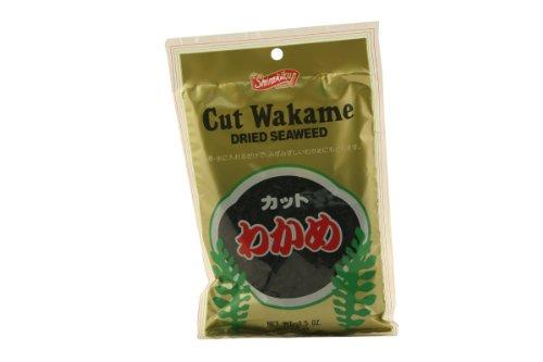 Wakame Cut Dried Seaweed 2.5 Ounce By Shirakiku