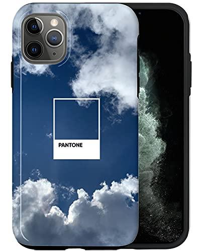 JUSPHY - Carcasa para iPhone 11 Pro Max, diseño de moda, diseño de moda, color azul nublado PIN172, diseño de moda, accesorios de teléfono
