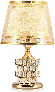 Lampe de table en cristal, salle de mariage Salon Restaurant Lampe de lecture Toucher E27 Bouton d'alimentation Power Bout...