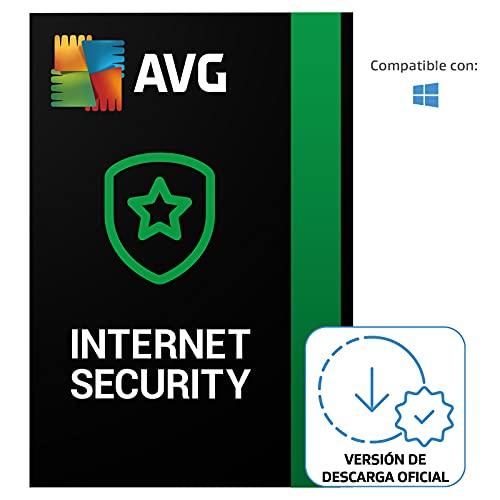 AVG Internet Security - Protección antivirus   10 Dispositivo   1 Año   PC/Mac   Código de activación enviado por email