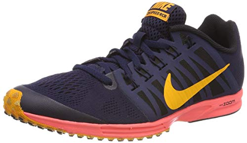Nike Air Zoom Speed Racer 6, Zapatillas de Running Unisex Adulto, Multicolor (Blackened Blue/Orange Peel/Black 400), 44 EU