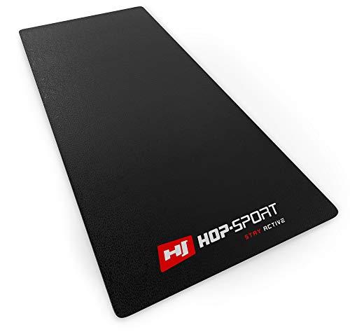 Hop-Sport Bodenschutzmatte aus PVC 0,6mm Dicke Unterleg und Schutzmatte für Fitness & Sportgeräte in DREI Größen zur Auswahl 160x70cm