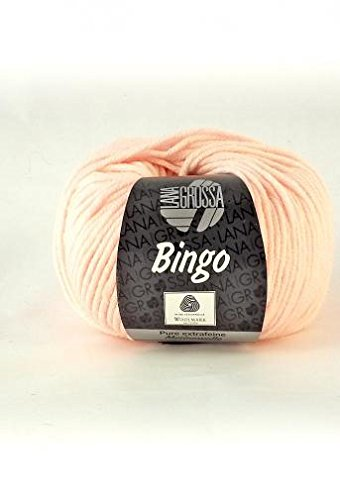 Lana Grossa Bingo 064 Rosa 50g Wolle