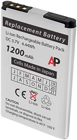 Artisan Power Replacement Battery for EnGenius FreeStyl2 EP-802 Phone. 1200 mAh